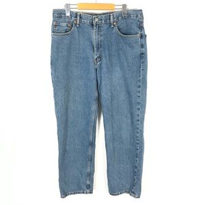 Levis 550 Relaxed Fit Mens Jeans Size 36X30 Blue